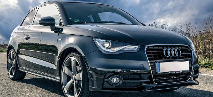 A black car image.