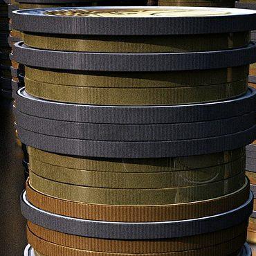 A heap of virtual coins.