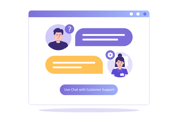 Hire live chat agents